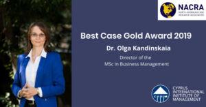 International Award for CIIM Professor