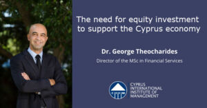 The need for equity investment to support the Cyprus economy