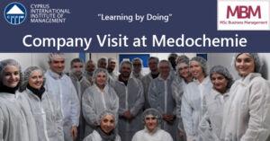 MBM company visit at Medochemie