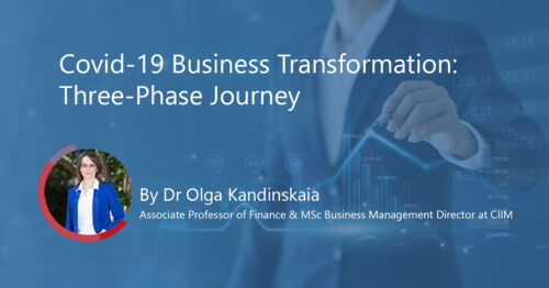 Covid-19 Business Transformation: Three-Phase Journey