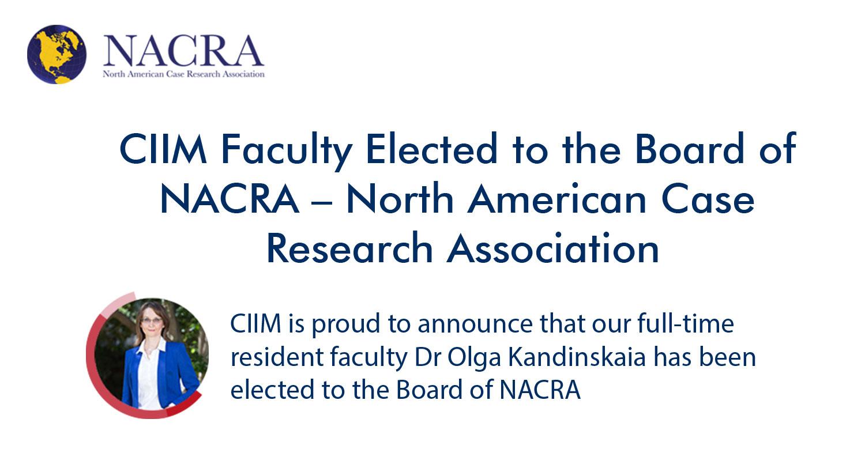 NACRA Election